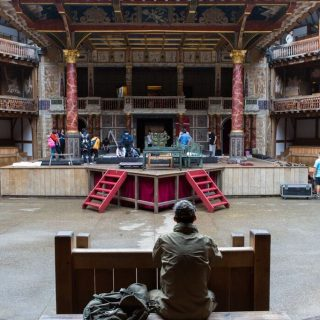 "National Theatre of China ""Richard III"" @ Shakespeare's Globe Theatre 10"