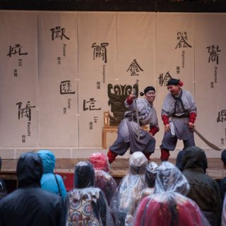 "National Theatre of China ""Richard III"" @ Shakespeare's Globe Theatre 12"