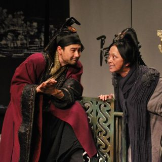 "National Theatre of China ""Richard III"" @ Shakespeare's Globe Theatre"
