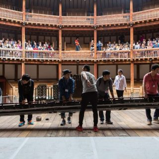 "National Theatre of China ""Richard III"" @ Shakespeare's Globe Theatre 4"
